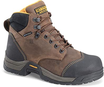 76dc263a1fc Carolina CA5522 Mens 6'' Waterproof Broad Toe Work Boot