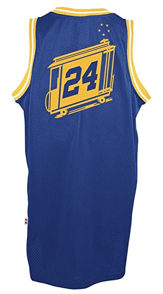 3ed9633e0 Amazon.com   adidas Rick Barry Golden State Warriors NBA Throwback Swingman  Jersey - Blue   Sports   Outdoors