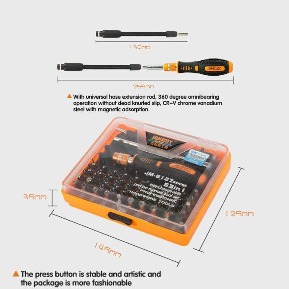WFFF Manual Screwdriver Portable Repair Open Tool Kit Screwdriver Set Telecommunications Set Tool Repair Disassemble Tool Jm8127