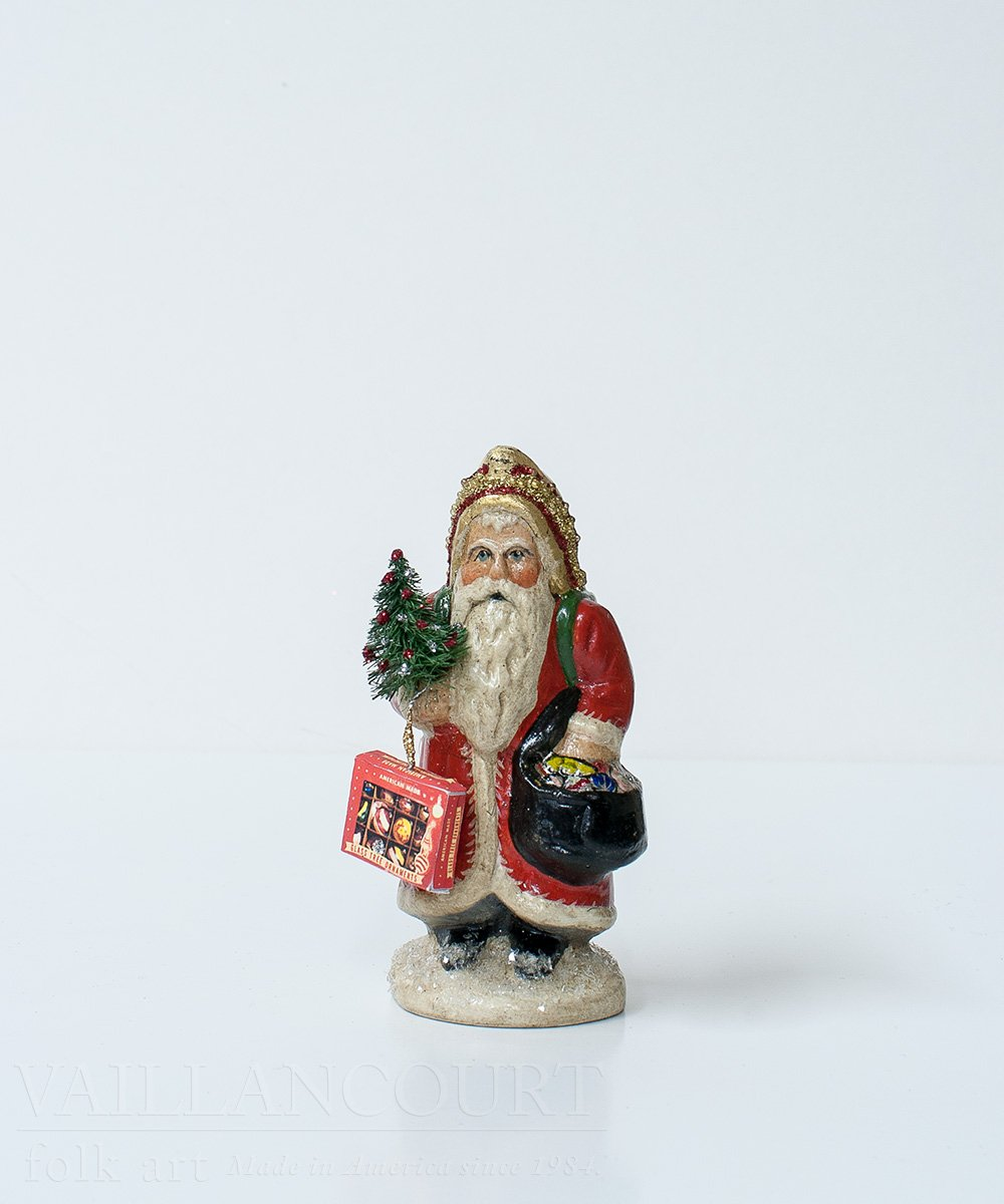 Small Ornament Delivery Santa