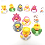 Fairy Tale Rubber Duck Ducky Party Favors