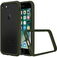 RhinoShield Coque pour iPhone 7 / iPhone 8 [CrashGuard NX] Protection Fine Personnalisable avec Technologie Absorption des Chocs [sans BPA] + [Programme de Remplacement Gratuit] - Vert Kaki