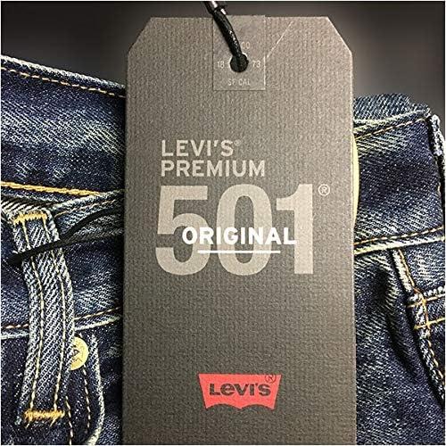 501(2018モデル) プレミアム オリジナル ボタンフライ 国内正規品 ダークユーズド 00501-1485P