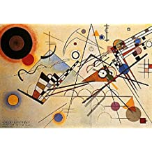 Posters: Wassily Kandinsky Poster Art Print - Composizione VIII (39 x 28 inches)