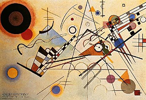 Komposition X Art Print Poster By Wassily Kandinsky