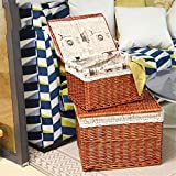 WUSHIYU Desk Organizer with Desktop Stationery Finishing Storage Basket Office Supplies Storage Box Perfect for Home, Students, Or Office Desktop Organizer,Office Storage Rack,Office Stor