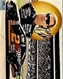 RUSTY WALLACE SIGNED 8X10 SOP CERT JSA AUTOGRAPH AUTHENTIC