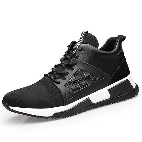 LFEU - Zapatillas de Deportes de Exterior de Lona Hombre: Amazon.es: Zapatos y complementos