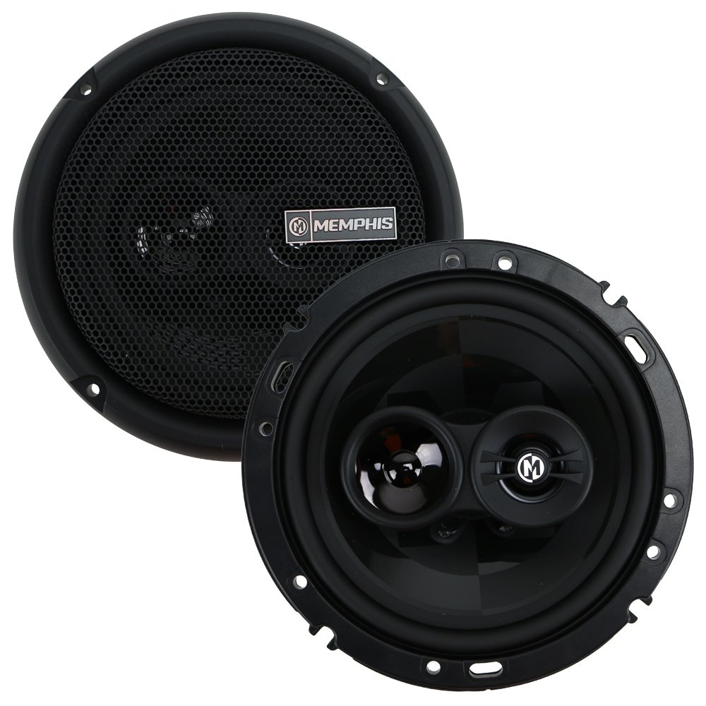 Memphis Audio PRX603 6-1//2 3-Way Power Reference Coaxial Speakers
