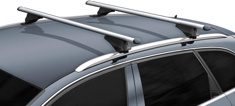 Menabo Alu Dachträger Tiger Kompatibel Mit Mercedes C S205 Kombi Ab 2014 Aufliegende Dachreling Auto