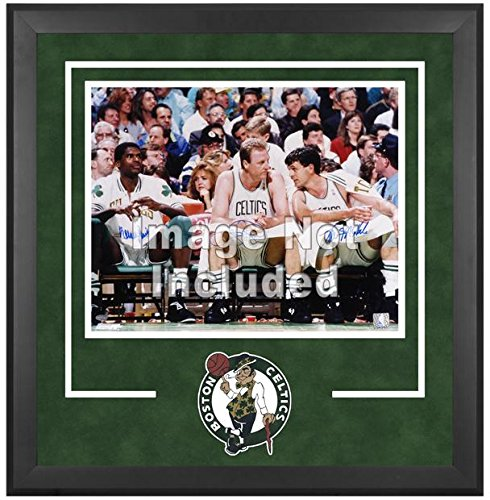 Boston Celtics Deluxe 16'' x 20'' Frame - Fanatics Authentic Certified - NBA Other Display Cases by Sports Memorabilia