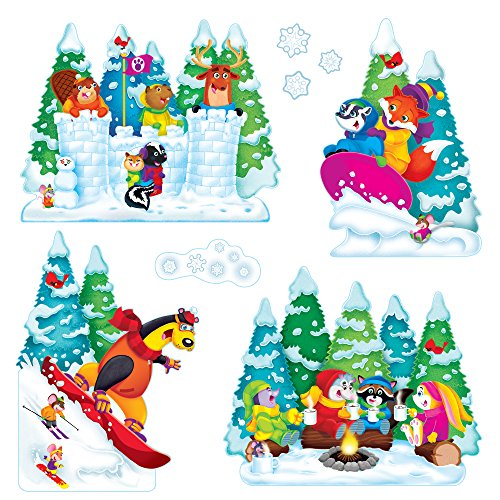 Trend Micro Enterprises Wonderful Winter Bulletin Board S...