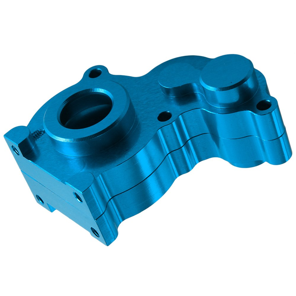 RC Aluminum Center Gear Box AXIAL Mount 4WD 1:10 SCX10 Replace AX80009