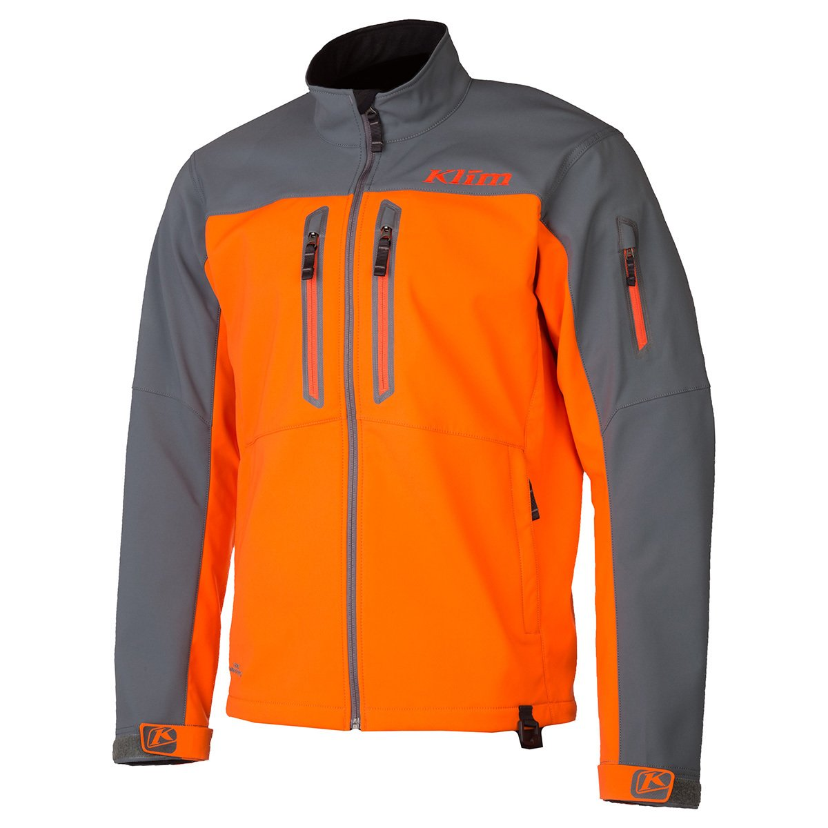 Klim Inversion Men's Ski Snowmobile Jacket - Orange/Medium