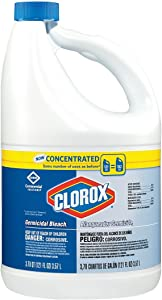 Clorox - Concentrated Germicidal Bleach, Regular, 121oz Bottle, 3/Carton 30966CT (DMi CT