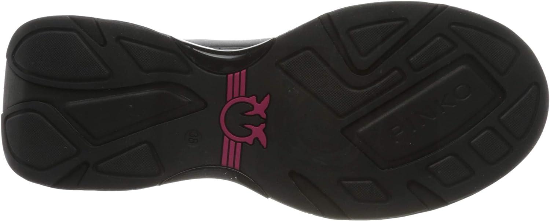 Pinko Rubino 2, Baskets Enfiler Femme Noir Nero Limousine Z99