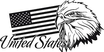Graz Design 630267_57_070 Wand Tattoo Wohnzimmer Deko Ideen, United States  Of Amerika Länder Flagge