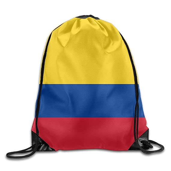 apnzll Unisex Colombia Flags of Countries Print Drawstring ...