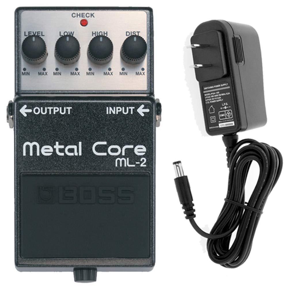 【ACアダプターセット】 Boss(ボス) Metal Core ML-2 ハイゲインディストーション ギターエフェクター   B07LBNDH78