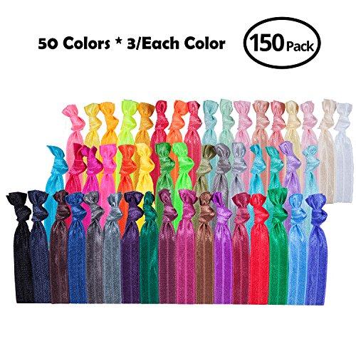 50 no crease hair ties - 2