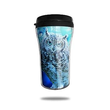 Mug Owl À De 3d Blue Transport Cute Ouyoudefanga Space Café Imprimé OZXiuPTk