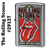 Zippo Rolling Stones 29127 Cigarette Lighter (Brushed Chrome)