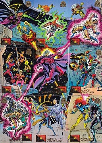 MARVEL UNIVERSE 1994 FLEER COMPLETE BASE CARD SET OF 200 ()