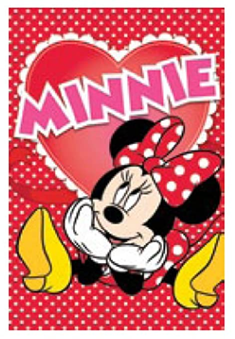 Disney Minnie Mouse Toalla de mano, 40x 60cm, para niñ