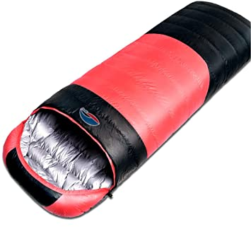 Amazon.com: Saco de dormir individual doble plumón al aire ...