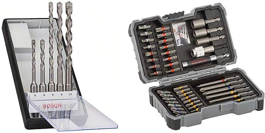 Robust Line Hammerbohrer-Set SDS-plus-7 Bosch 5tlg