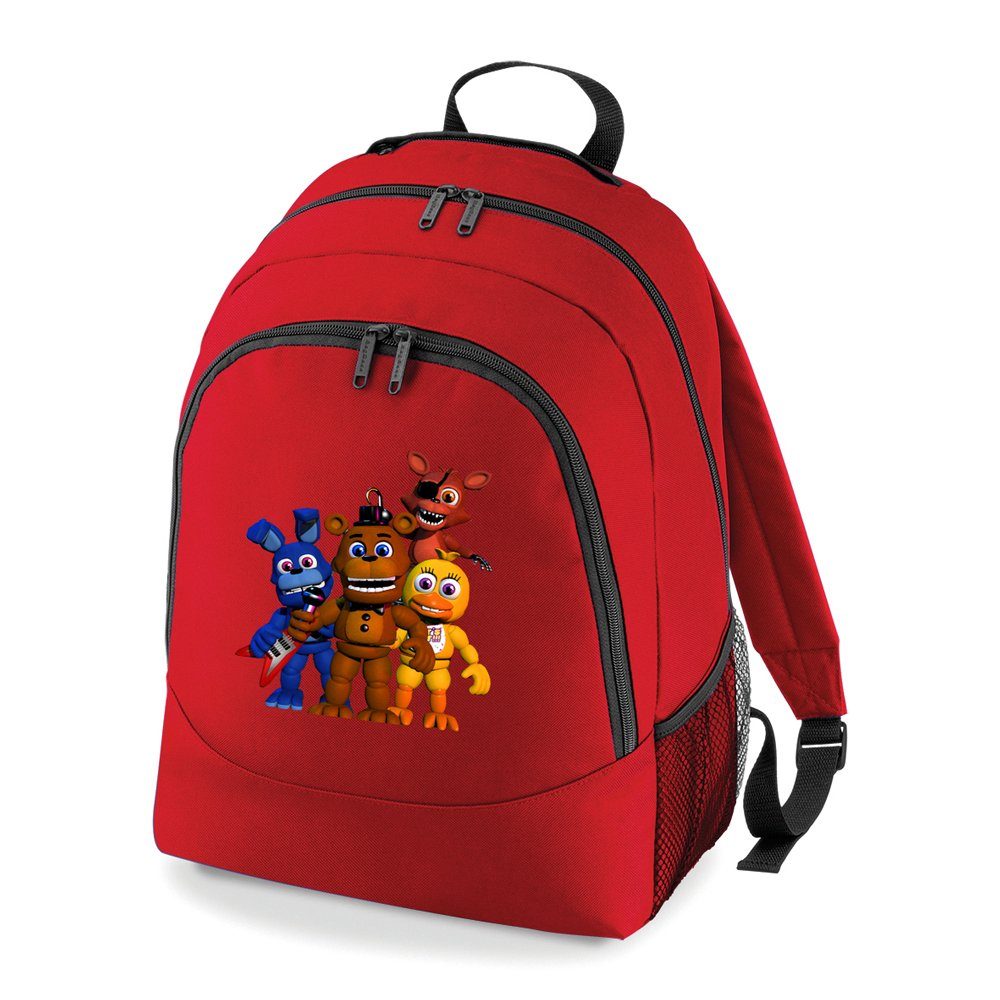 FIVE NIGHTS AT FREDDY'S FAB FOUR UNIVERSAL BACK PACK BAGBASE
