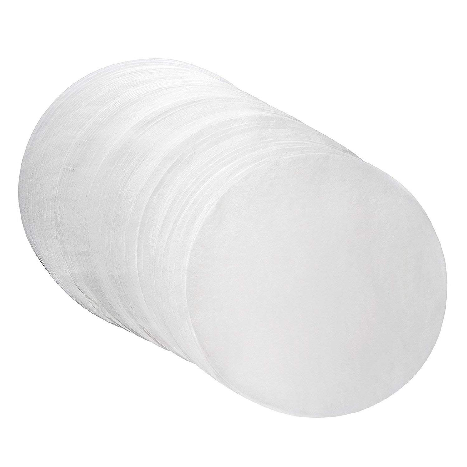 Oasis Supply Round Dry Wax Parchment Pan Liners for Cake Baking, Deep Dish Pizza, and Cheesecakes, White, 12 Inch Round, 1000 Count by Oasis Supply