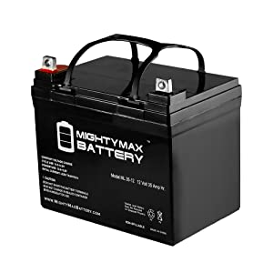 Roll over image to zoom in Mighty Max Battery 12V 35AH SLA Battery for John Deere Tractor Riding Mower