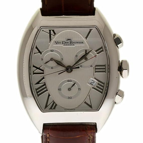 Van Der Bauwede Magnum swiss-quartz Mens Reloj cal 25 (Certificado) de segunda