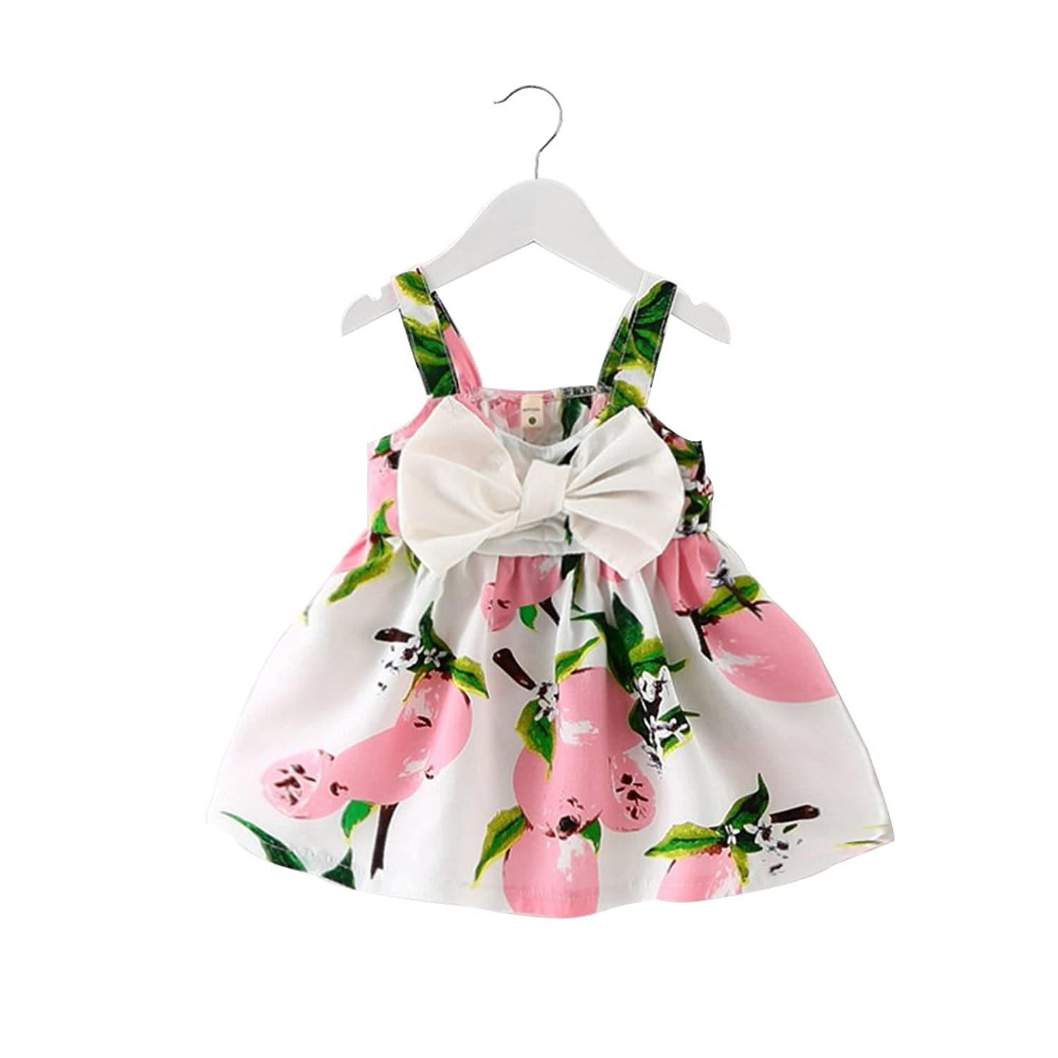 Baby Girls Toddler Princess Skirt Party Dress Kids Summer Tutu Clothes Fit1-6Y
