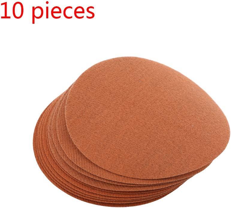 10 St/ück 2500 Bis 10000 K/örnung Nass Und Trocken Schleifpapier F/ür Auto Holzm/öbel Glas Folewr-8 Schleifpapier Set 125mm Metall Stein