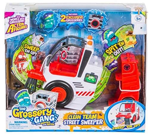 GROSSERY GANG S3 Putrid Power the Clean Team Street Sweeper Playset Collector (Pro Street Collector)