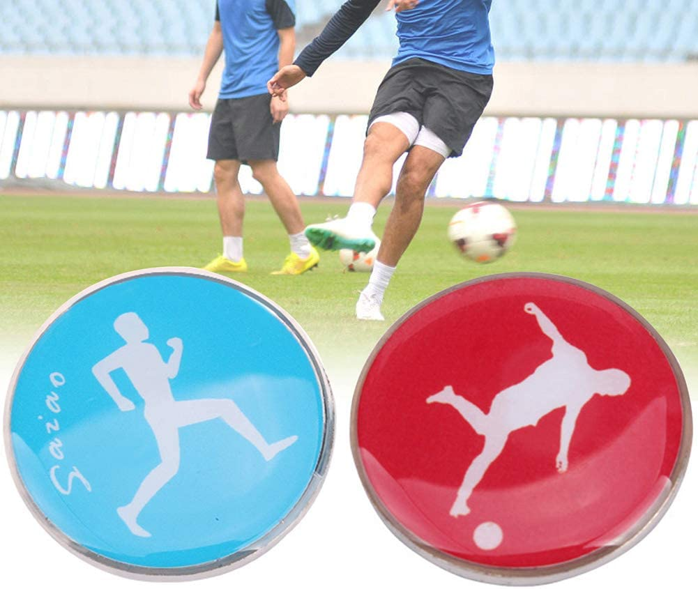 rycnet Pi/èce de Monnaie pour Enfant et Adulte Motif Ballon de Football