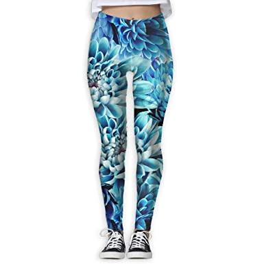 ANTOUZHE Pantalones de Yoga Yoga Pants Blue Mum Women Power ...