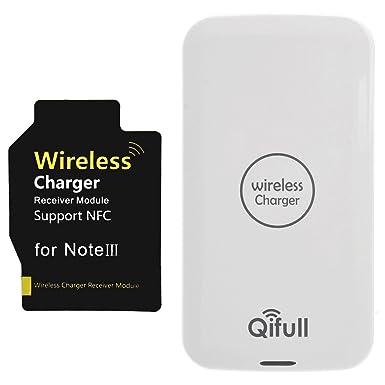 Qifull Qi cargador inalámbrico receptor para Samsung Galaxy ...