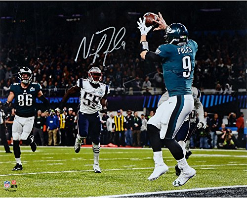 Nick Foles Philadelphia Eagles Super Bowl LII Champions Autographed 16
