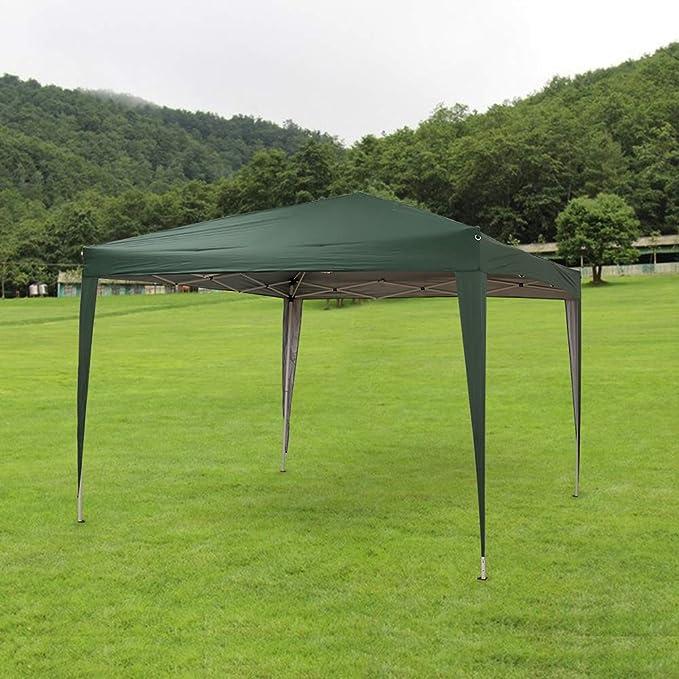 Sproutor - Cenador Plegable (2, 5 m x 2, 5 m, Resistente al Agua), Verde: Amazon.es: Jardín