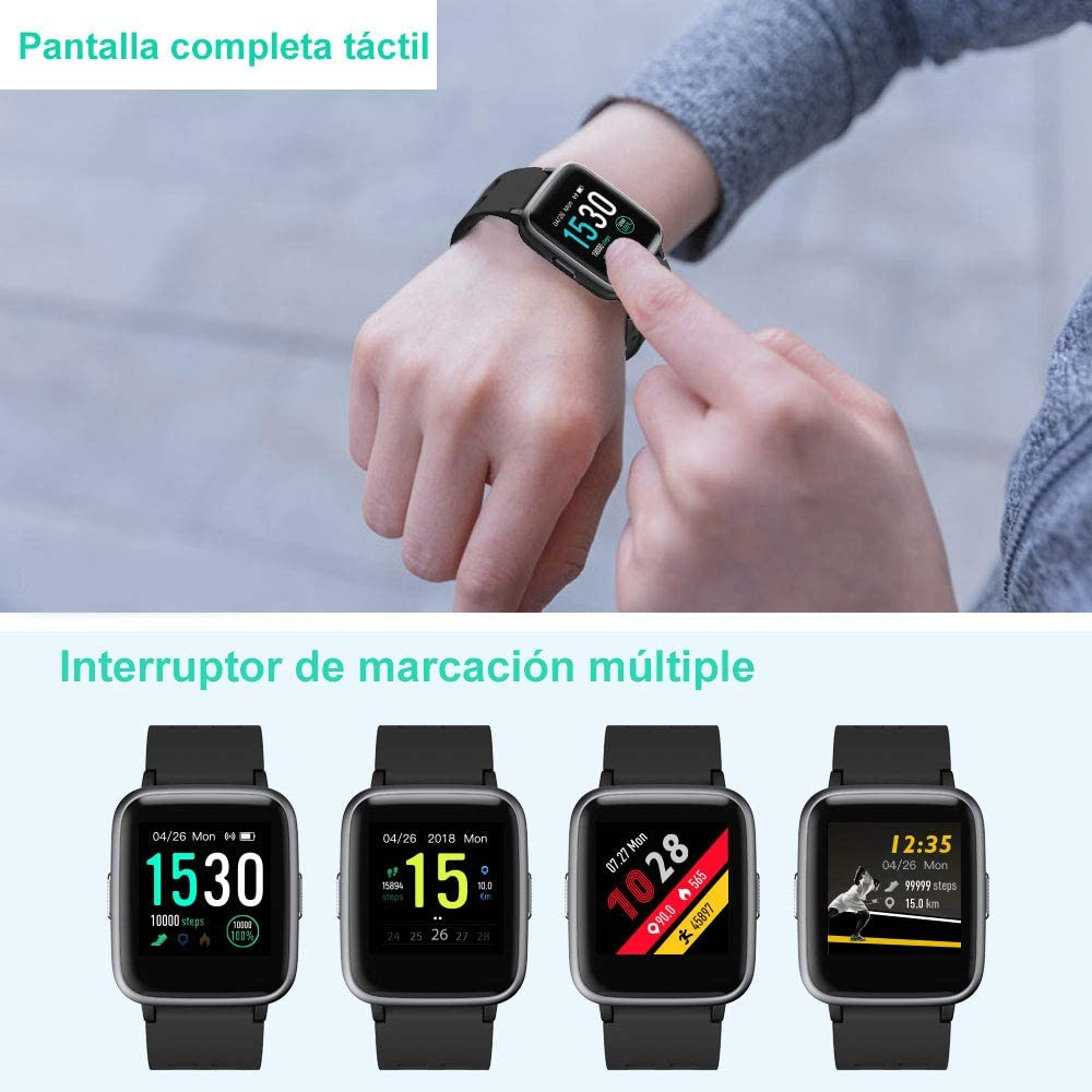 YAMAY Smartwatch, Impermeable Reloj