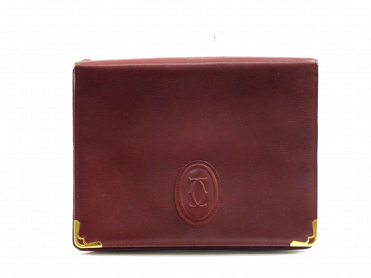 [カルティエ] Cartier セカンドバッグ レザー X11796 中古   B01H6Y2CDK