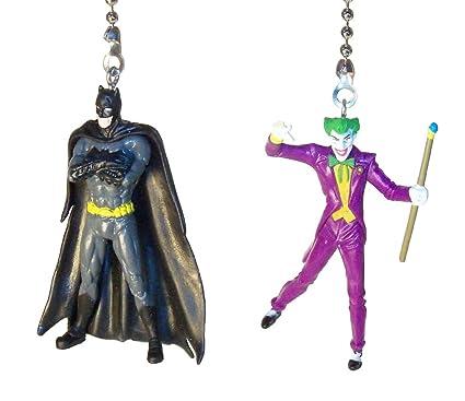 batman joker wonder woman superman justice league ceiling fan pull