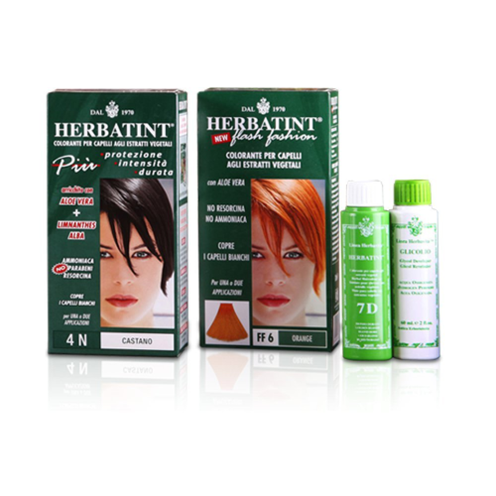 Herbatint 6N Dark Blonde Permanent Herbal Hair Colour Gel 135ml Gentle Beauty 58219