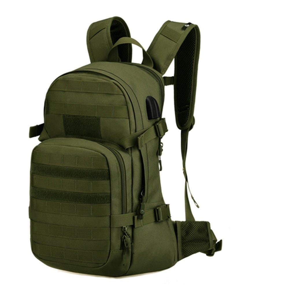 Protector Plus Military Rucksack Expandable Daypack for Camping Trekking Black 1
