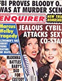 Cybil Shepherd and Christine Baranski, Madonna, Robert Young, O.J. Simpson - November 5, 1996 National Enquirer Magazine