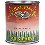 General Finishes PLB Milk Paint, 1 pint, Lamp Black