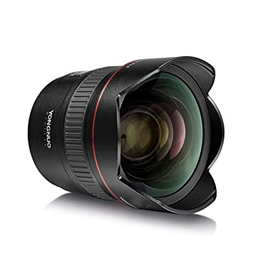 YONGNUO YN14mm F2.8 - Objetivo Gran Angular para cámara réflex ...